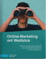 Buchcover Online-Marketing mit Weitblick