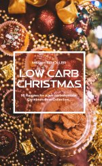 Buchcover Low Carb Christmas